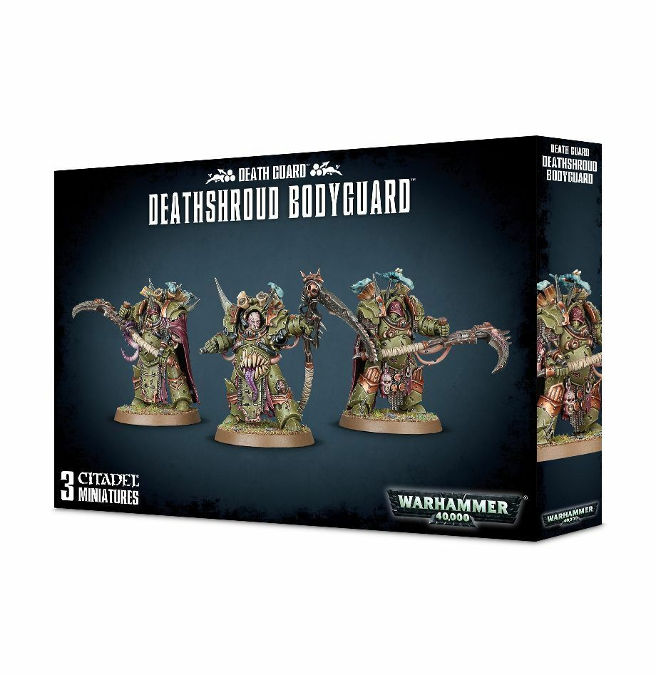 Warhammer 40k chaos nurgle deathshroud bodyguard kunststoff neue