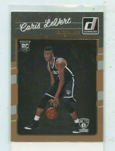 CARIS-LEVERT-2016-17-Panini-Donruss-Rated-Rookie-167-RC-Brooklyn-Nets