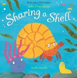 Sharing-a-shell-by-Julia-Donaldson-Paperback-Expertly-Refurbished-Product