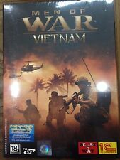 NEW*SEALED PC Game MEN OF WAR VIETNAM (PC) (DVD) BRAND NEW FACTORY SEALED