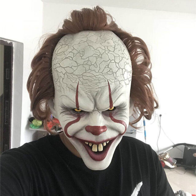 Pennywise IT Masks Vintage//Modern Stephan King Halloween Scary Clown Cosplay USA