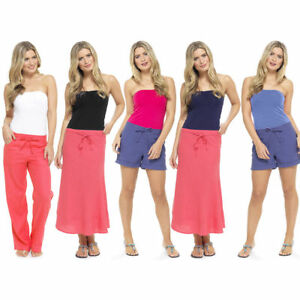 07e815e7a5 Image is loading Ladies-Womens-Strapless-Bandeau-Boob-Tube-Ruched-Plain-