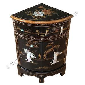 nacre oriental furniture laque noire meuble d 039