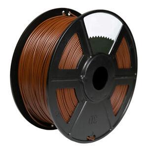 Open-Minded Brown 3d Printer Filament 1kg/2.2lb 1.75mm Pla Makerbot Reprap Computers/tablets & Networking