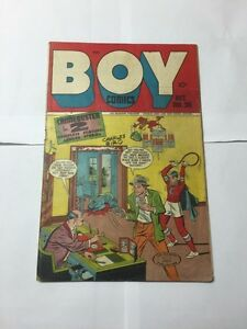 Boy-Comics-36-Very-Good-Vg-4-0-See-Pictures