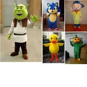 Image is loading Adult-Yellow-Duck-Shrek-Pumpkin-Boy-Sonic-Cosplay-  sc 1 st  eBay & Adult Yellow Duck/Shrek/Pumpkin/Boy/Sonic Cosplay Costume Cartoon ...