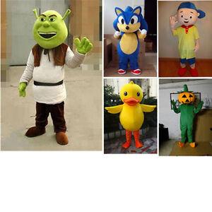 Image is loading Adult-Yellow-Duck-Shrek-Pumpkin-Boy-Sonic-Cosplay-  sc 1 st  eBay & Adult Yellow Duck/Shrek/Pumpkin/Boy/Sonic Cosplay Costume Cartoon ...
