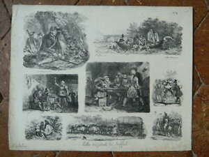 Lito-Gihaut-Hermanos-1829-Raffet-Placa-N-11