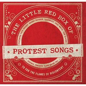 THE-LITTLE-RED-BOX-OF-PROTEST-SONGS-WOODY-GUTHRIE-LEADBELLY-3-CD-DVD-NEW