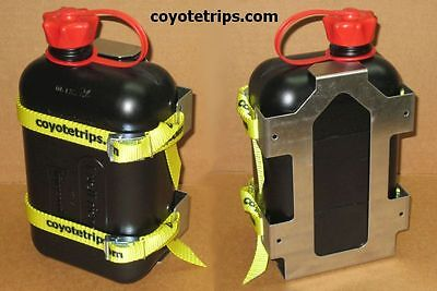 ATV and Motorcycle Fuel Can, Gas Can, 2 liters, with Holder