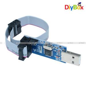 10-Pin-Cable-USB-ATMEGA8-ATMEGA128-USBASP-USBISP-AVR-Programmer-Adapter-Arduino
