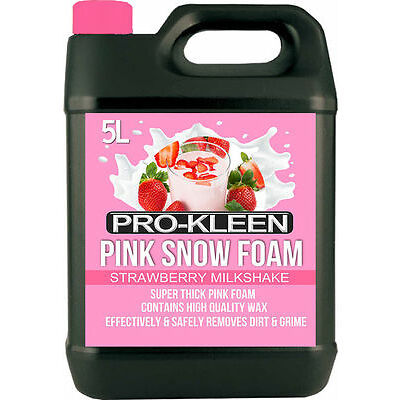 PRO-KLEEN SNOW FOAM CAR PRE WASH WAX SHAMPOO CLEANER GENUINE AUTO HIGH GLOSS 5L