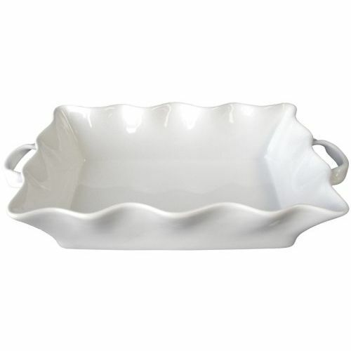 Bia Cordon Bleu Wavy 3qt Rectangular Baker With Handles White For Sale Online Ebay