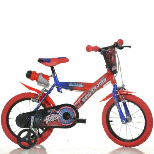 Licensed Character Bicycle Spider-man 4+ Dino Bikes Children/'s 14/' 35.6cm