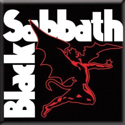 Obbiettivo Black Sabbath Fridge Magnet Calamita Daemon Official Merchandise