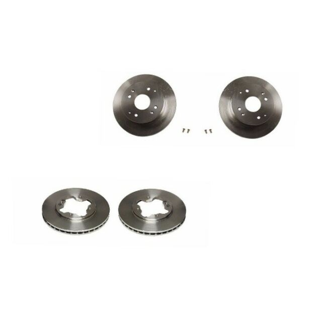 Disc Brake Rotors Front & Rear Brembo Fits: Acura CL