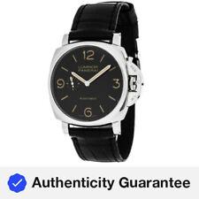 Panerai Luminor Due 3 Days Acciaio Black Dial 45mm Men's Watch PAM00674