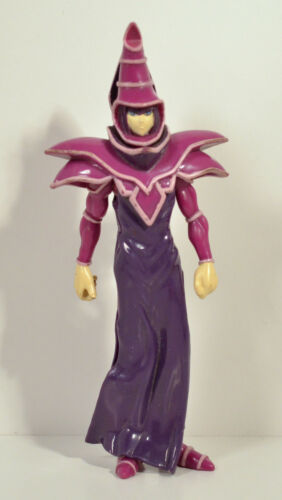 "1996 Dark Magician 6.25/"" Kazuki Takahashi MATTEL FIGURINE YU-GI-OH"