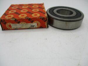 FAG Sealed Deep Groove Ball Bearing 30mm x 62mm x 16mm 6206.2RSR.C3