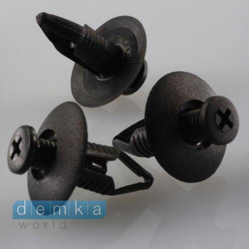 10x staffe di montaggio Clip Passaruota coperchio HONDA MAZDA NISSAN FORD kia6384401a00