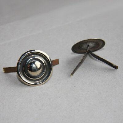 Silberfarbende Splintrosetten für Schuppenketten