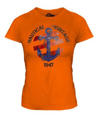 GIFT T DRESS HERITAGE NAUTICAL LADIES TEE ACCESSORIES SHIRT 1847 TOP q0qUna7