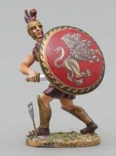 Thomas Gunn Antik GREEKS & Persians spa006b Spartan Krieger Zeichnung Schwert