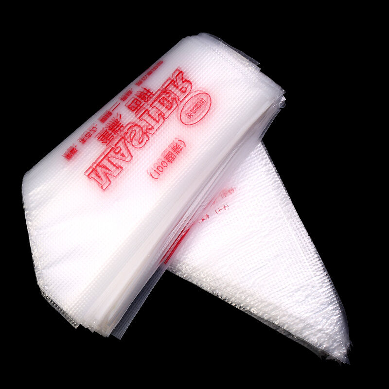 Clear Disposable Cake Decorating Bags : 100pcsxDisposable Pastry Bag Icing Piping Cake Pastry ...