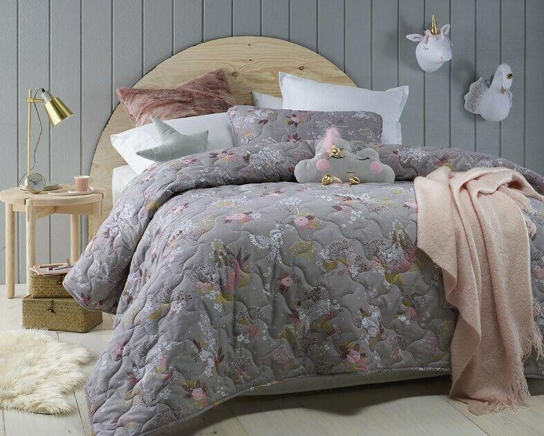 Jiggle & Giggle Kids Girls Woodlands Comforter  Coverlet Set