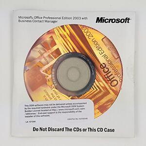 Microsoft Office 2003 Professional Pro OEM Vollversion Englisch English