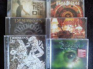 Thrash-Metal-CD-Lot-6-CD-Lot-Delirious-Warbringer-Hatesphere-Watch-Them-Die
