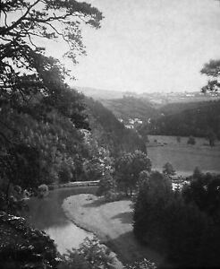 ELSTERTAL-Dia-Diapositiv-Glas-historisch-vor-1930-antik-Raritaet-Sammlerstueck-rar