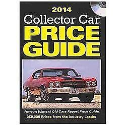 Classic Car Price Guide >> Collector Car Price Guide 2014 Collector Car Price Guide Cd 2014 By Old Cars Report Price Guide Editors 2013 Cd Rom