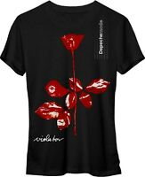 AUTHENTIC DEPECHE MODE VIOLATOR NEW WAVE SYNTH POP BAND JUNIORS T SHIRT S M L XL