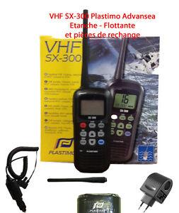 VHF étanche, flottante - Plastimo Advansea SX-300 - complète et pièces détachées