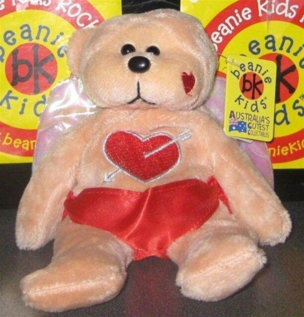 91d14e44355 Beanie Kids - Cupid The Love Bear Bk 441 Retired for sale online