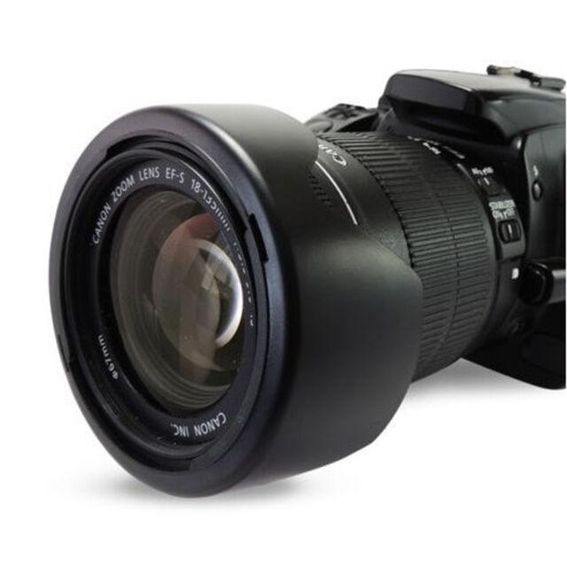 49-82mm Tulip Plastic Lenses Hood Center pinch Lens Hood For camera Canon Sony