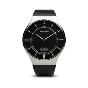 Bering-Herrenuhr-51640-402-Funkuhr-Armbanduhr-Funk-Uhr-Analog-Digitalanzeige