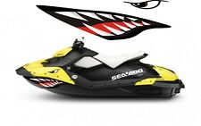 Sea-Doo Bombardier Spark 2 3 Jet Graphic Wrap Jetski seadoo shark mouth decals 3