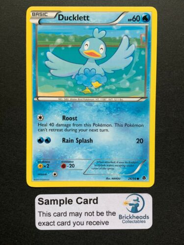 Ducklett 26//98 CommonBW Emerging PowersPokemon Card
