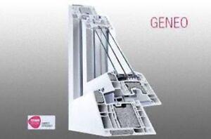 Finestre infissi serramenti in pvc geneo fibra di for Prezzo finestre pvc al mq