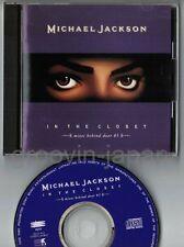 MICHAEL JACKSON In The Closet Mixes Behind Door #3 JAPAN CD w/PS ESCA5622 FreeSH