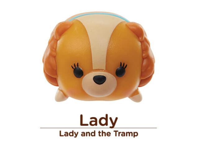 Disney Tsum Tsum Vinilo Figura Dama Varios Tamaños suerte!