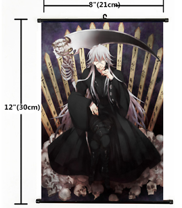 1408 HOT Anime Black Butler Wall Poster Scroll Home Decor Cosplay A