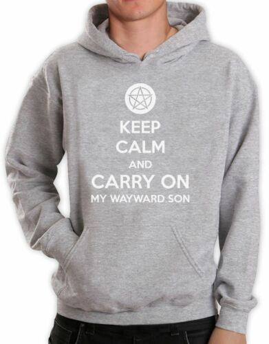 Keep Calm and Carry On My Wayward Son Hoodie Supernatural