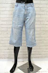 Bermuda-Uomo-GAS-Taglia-Size-34-Jeans-Pantaloncino-Pantalone-Shorts-Pants-Man