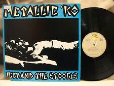 IGGY AND THE STOOGES - METALLIC KO LP USA VISA RECORDS