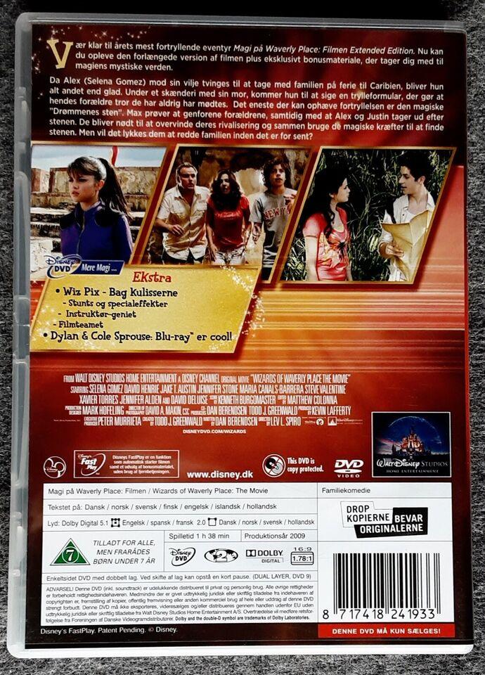 Magi på Waverly Place, DVD, familiefilm