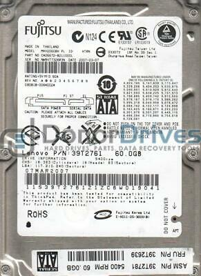 MHR2020AT PN CA06062-B24200DL Fujitsu 20GB IDE 2.5 Hard Drive