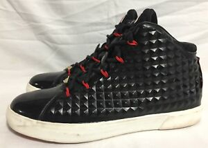 Nike 716417 LeBron XII NSW Lifestyle QS Diamond Black Challenge Red ... 424e330a8